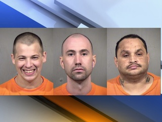 Three inmates charged with murder