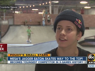 Mesa skateboarder is youngest in X-Games history