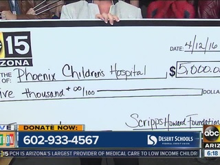 Scripps Howard Foundation donates $5K to PCH