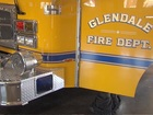 Family displaced after Glendale house fire