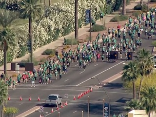 12th Pat's Run sees record crowd in Tempe
