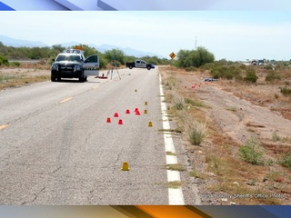 Pinal Co. asking for help in frontage road crash