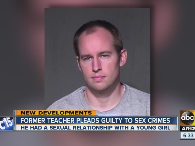 Former teacher pleads guilty to sex crimes