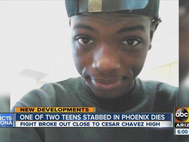 One of teens stabbed in Phoenix dies