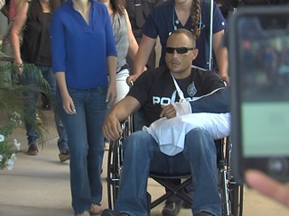 2nd Chandler cop shot on-duty recovering at home