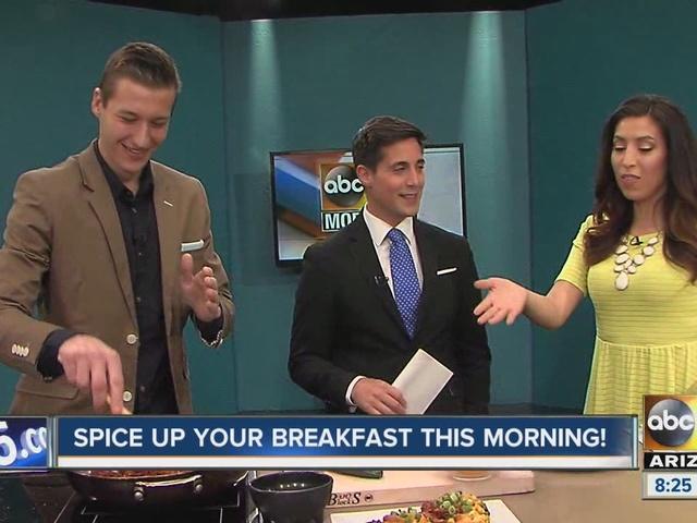 Chef Matthew Grunwald visits the ABC15 morning show