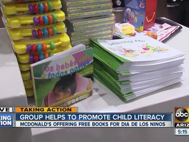 Free books at McDonald's on Saturday