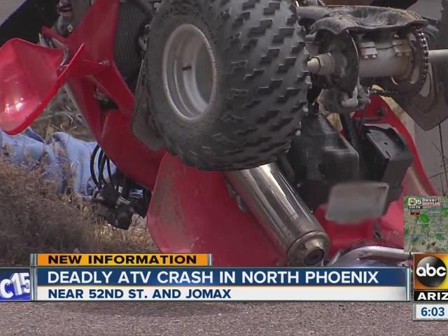 Names released in deadly ATV crash