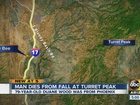 Yavapai deputies: man dies after fall from peak