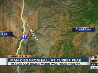 Yavapai deputies: man dies after fall from peak