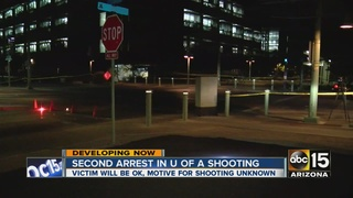 UA police arrest 2nd suspect in campus shooting