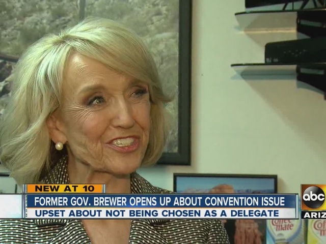 Brewer opens up about convention issue