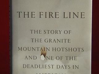 The 'Fire Line' honors Granite Mountain Hotshots