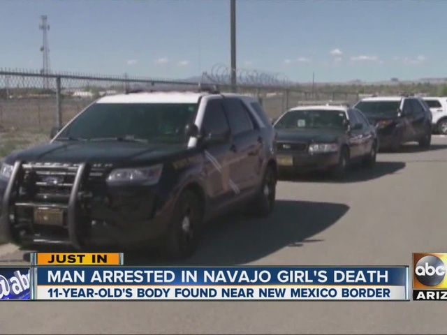 Man arrested in Navajo girl's death