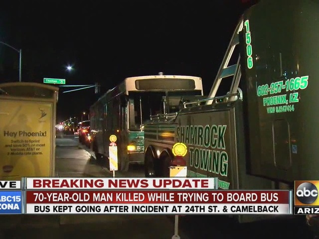 Man killed while trying to board bus