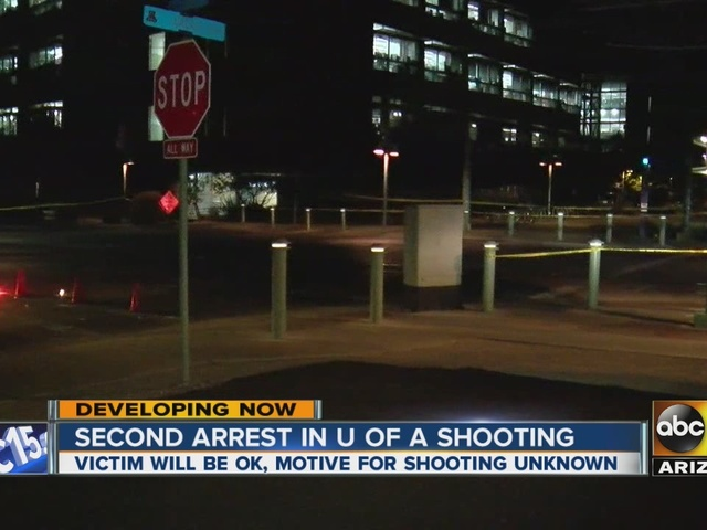 Second arrest made in UA shooting