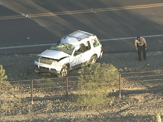 MCSO: Speed may be factor in Laveen rollover