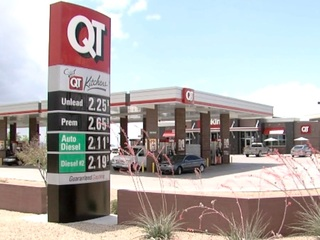 Gas pumps filled with wrong fuel at Buckeye QT