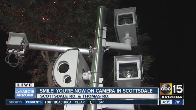 Scottsdale traffic cameras go live on Friday - ABC15 Arizona