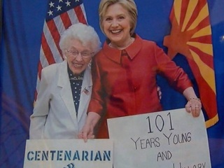 101-year-old AZ woman political powerhouse