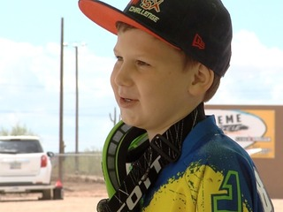 7-year-old AZ Supercross star has 60 trophies