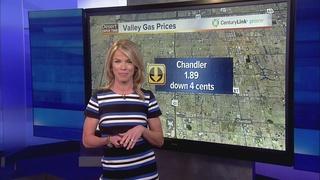 Gas pump prices taking a dip