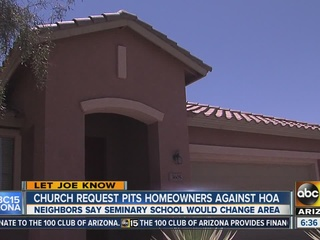 LDS Church request pits homeowners against HOA