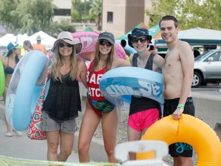 PHOTOS: Slide The City brings tubers to Phoenix