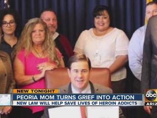 AZ mom works to save lives of heroin addicts