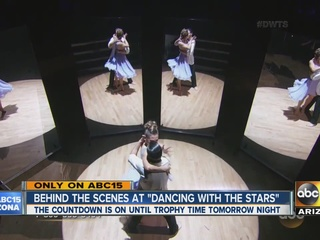 VIDEO: Go behind-the-scenes at 'DWTS' finale