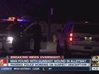 Man shot, found in Central Phoenix alley