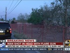 MCSO: Man shot self with flare gun in Guadalupe