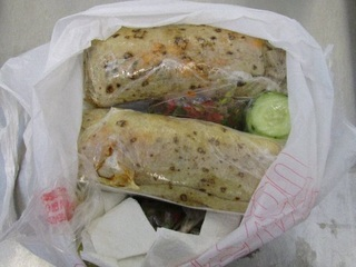 Nogales woman caught with meth inside burritos