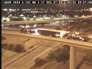 L-101 to I-17 reopens after semi rollover