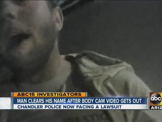 Unlawful arrest? Body camera video focus of suit