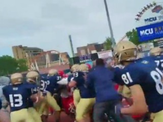 NY cops, firefighters brawl at football game