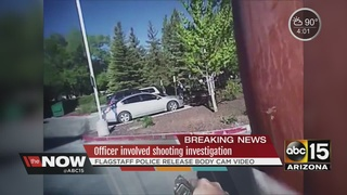 New video in Flagstaff officer-involved shooting