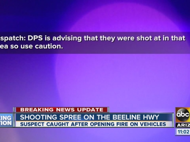 Beeline Highway reopens after shooting spree