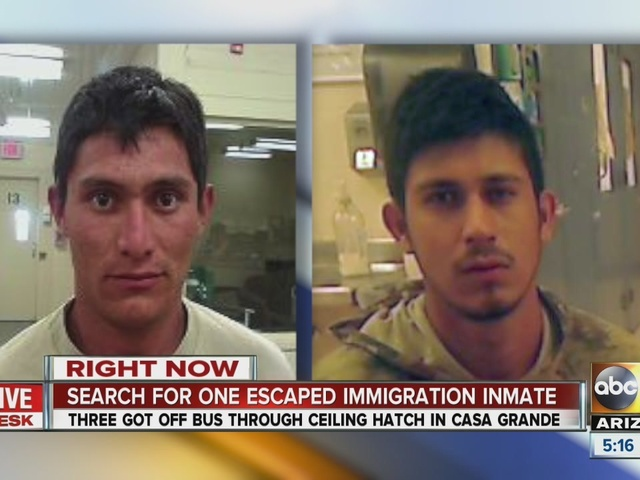 Border patrol searching for escaped inmate