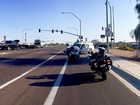Multi-car crash blocks Mesa intersection