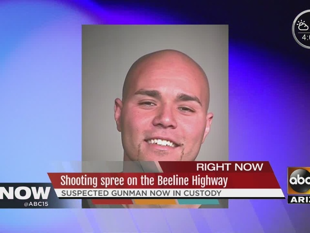 Man arrested in Beeline Hwy shooting spree