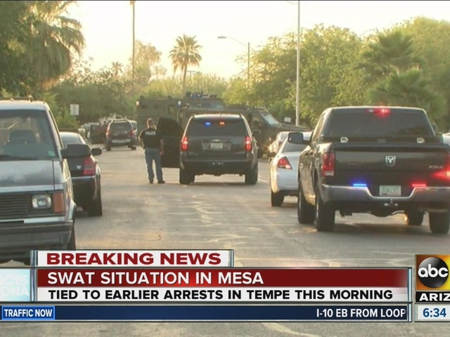 SWAT situation in Mesa