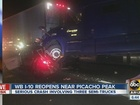 Serious semi crash blocks I-10 north of Tucson