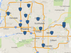 MAP: Memorial Day weekend DUI patrols