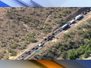 Holiday traffic causing delays on I-17 and SR 87