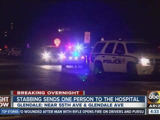 Glendale resident finds stabbed man outside home