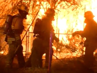 FD: Man burned in mobile home fire in AJ