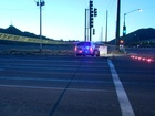 Pedestrian struck by police car in North Phoenix