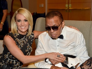 Muhammad Ali being treated for respiratory issue
