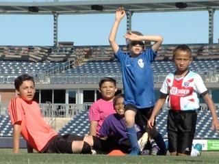 Small Stars: AZ United's youth soccer clinic